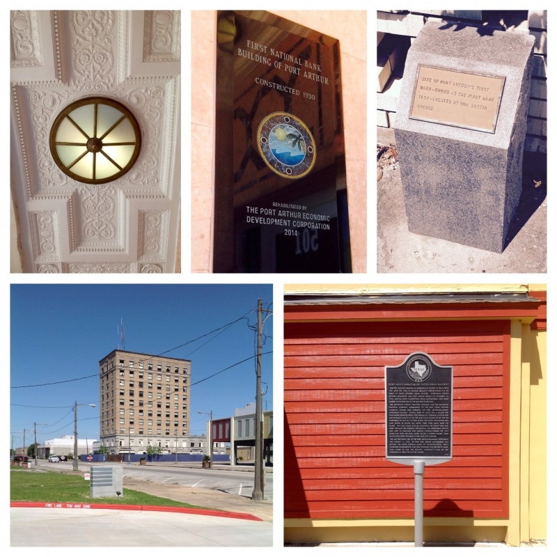Historical Markers in Port Arthur, Texas