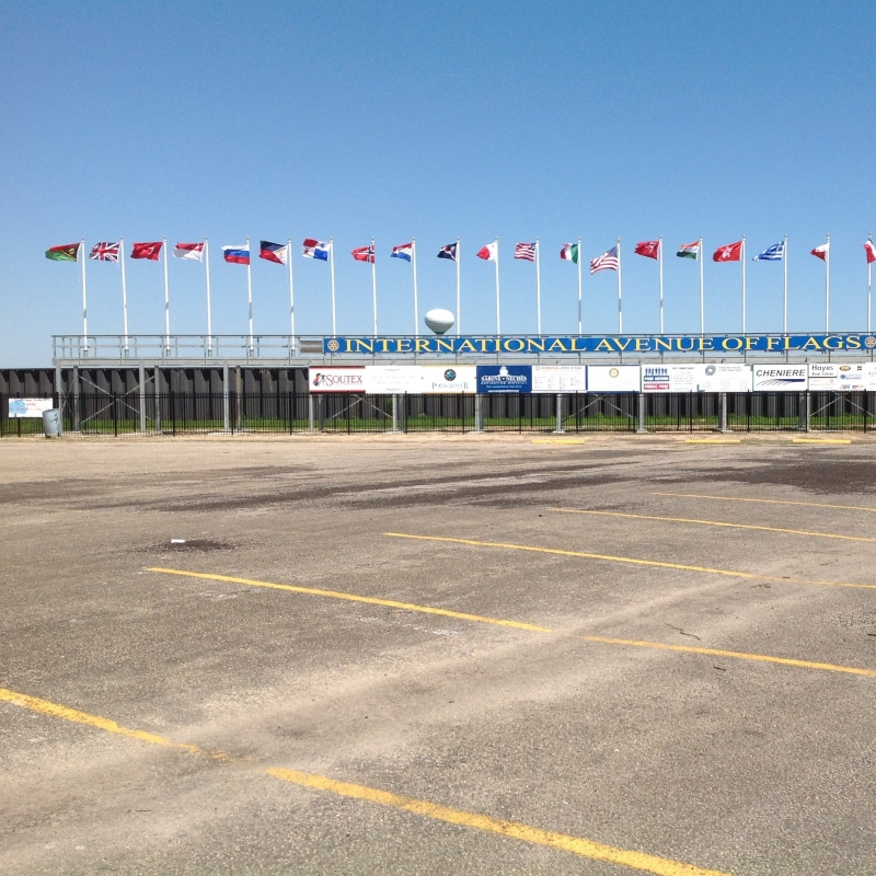 International Avenue of Flags | Port Arthur, Texas