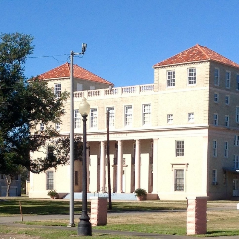 Masonic Lodge in Port Arthur, Texas