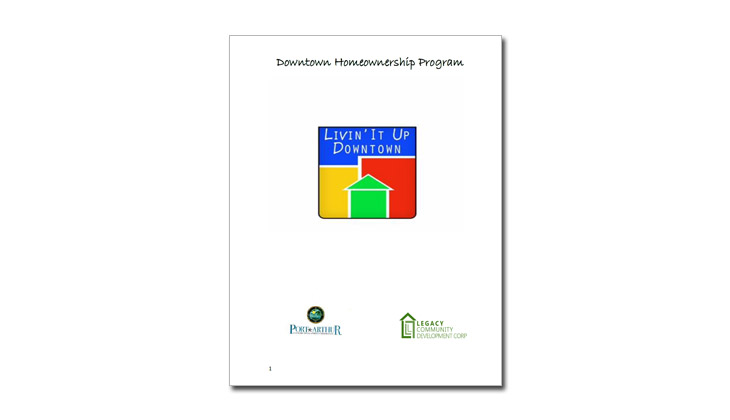 Downtown Homeownership Program Application