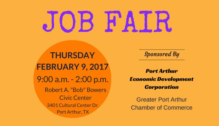 Port Arthur Works Job Fair 2017