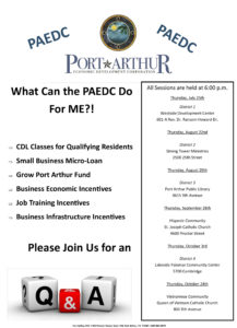 2019 PAEDC Informal Q&A